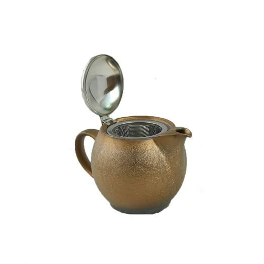 Antique Teapot, 450ml Gold