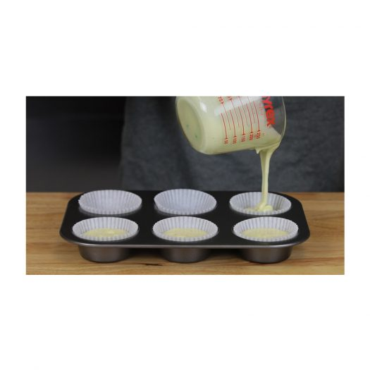 White Baking Cups, Standard size
