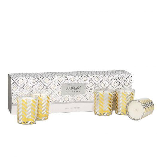 Winter Frost Scented Candle Set of 5