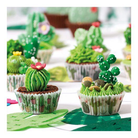 Baking Cups Cactus Pack, 36pcs