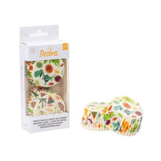 Baking Cups Dinosaurs Pack, 36pcs