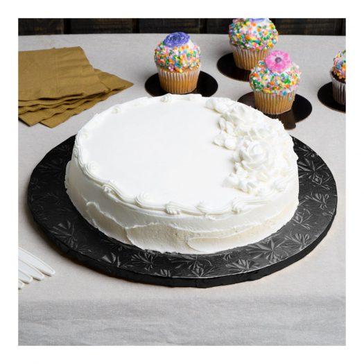 Black Round Cake Drums
