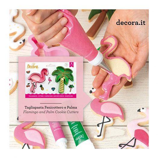 Flamingo & Palm Tree Cookie Cutter Set