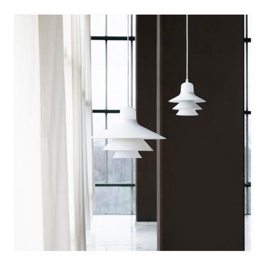 Ikono Suspension Light Small White