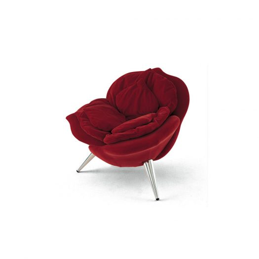 Rose Chair Red