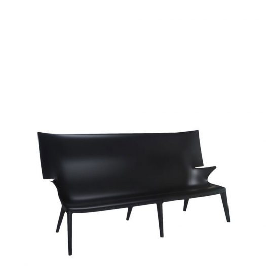 Uncle Jack Sofa Black Philippe Starck