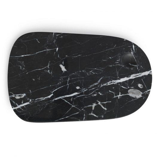 Marble Pebble Board Large Black