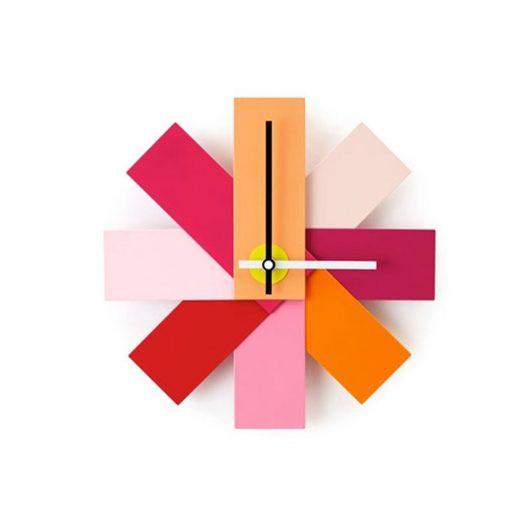 Watch Me Wall Clock Pink