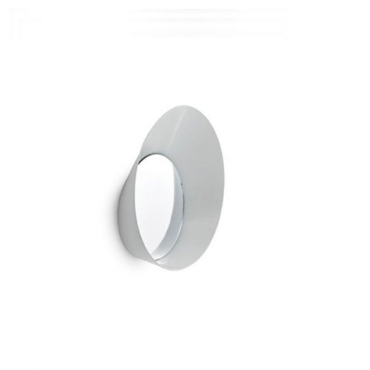 Ready Wall Hook with Mirror White