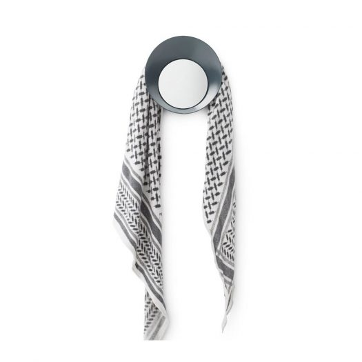 Ready Wall Hook with Mirror Grey