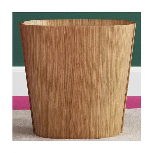 Tales of Wood Office Bin Walnut