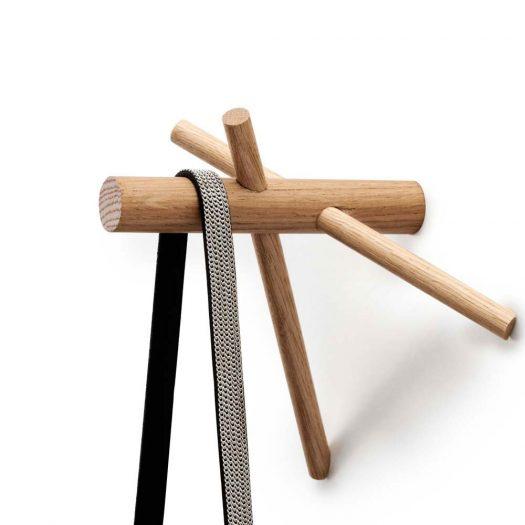 Sticks Hook 2pcs Set Natural Oak