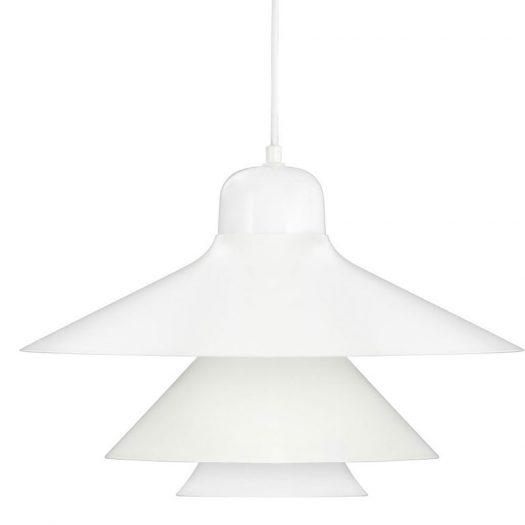 Ikono Suspension Light Large White