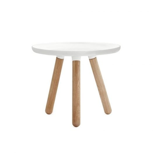Tablo Side Table Small White