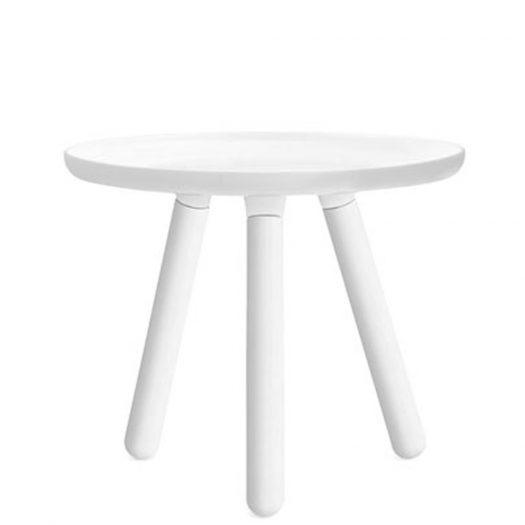 Tablo Side Table Small White White