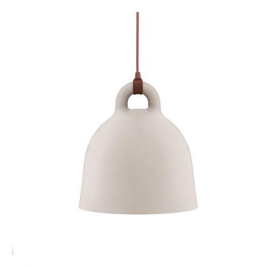 Bell Suspension Light Sand Small