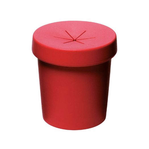 Pot For One Flower Set of Two – Red