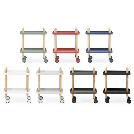 Block Table Trolley