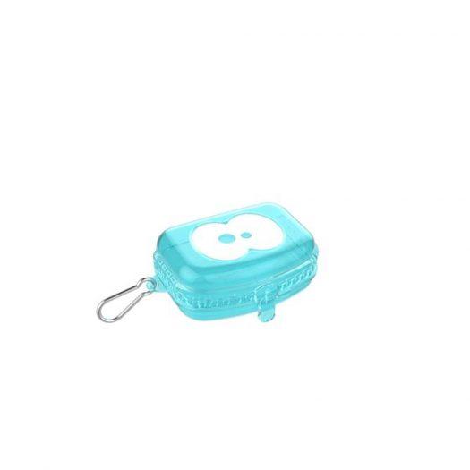 Snack Box, Aqua Blue