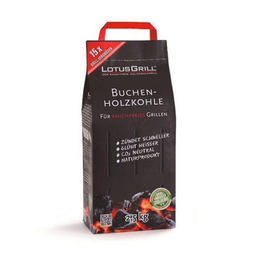 Beech Charcoal, 2.5 KG