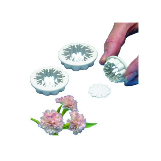 Carnation Cutters, Set of 3