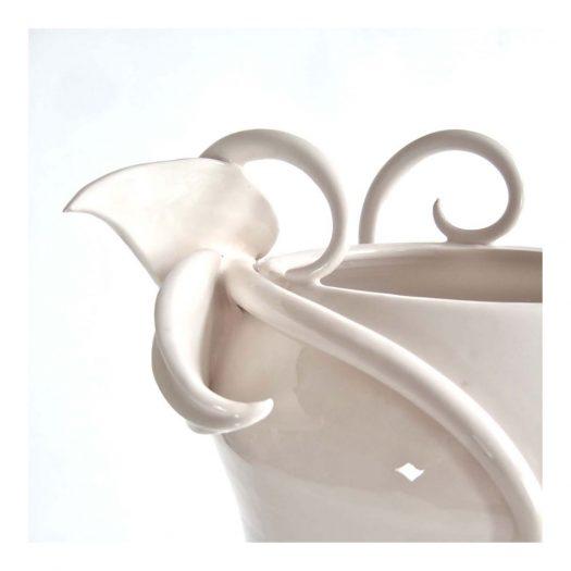 Embrace Vase The White Symphony Collection
