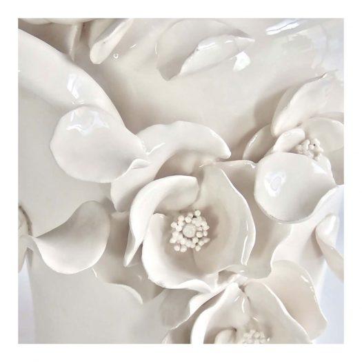 Hanami Vase The White Symphony Collection