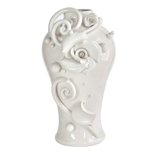 The Magic Rose Vase The White Symphony Collection