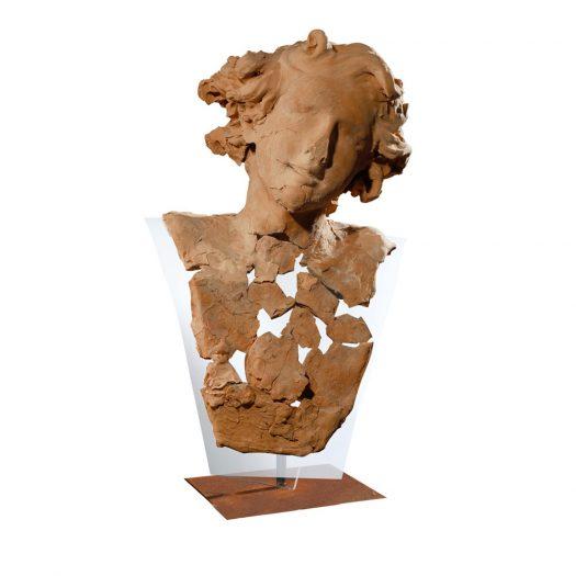 Cupid Essence Terracotta Sculpture