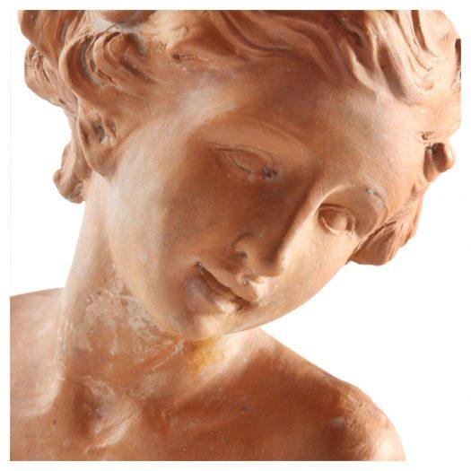Donna Terracotta Sculpture