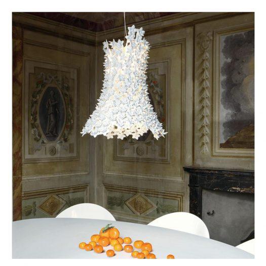 Bloom Suspension Light – White