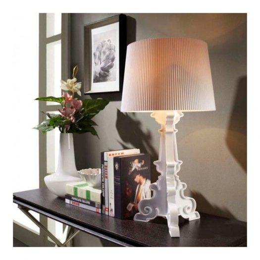 Bourgie White Gold Inner Table Light