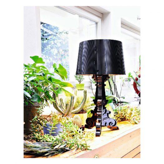 Ferruccio Laviani Bourgie Black Table Light