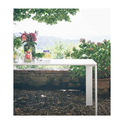 Ferruccio Laviani Four Outdoor Table White