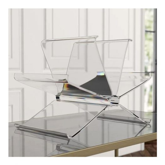 Front Page Magazine Rack Crystal