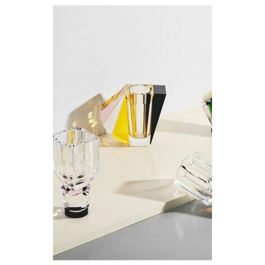 Grand Manhattan Vase Brown/Rose/Clear/Yellow