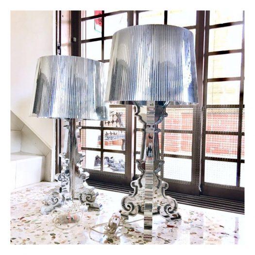 Laviani Bourgie Chrome Table Light