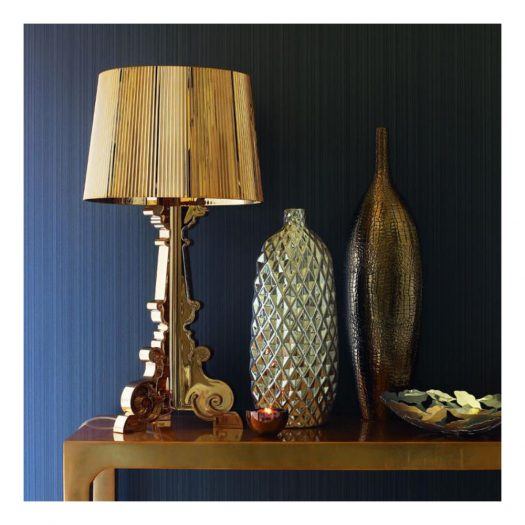 Metallic Bourgie Table Light Copper