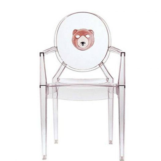 Louis Ghost Face Chair 2pcs Philippe Starck