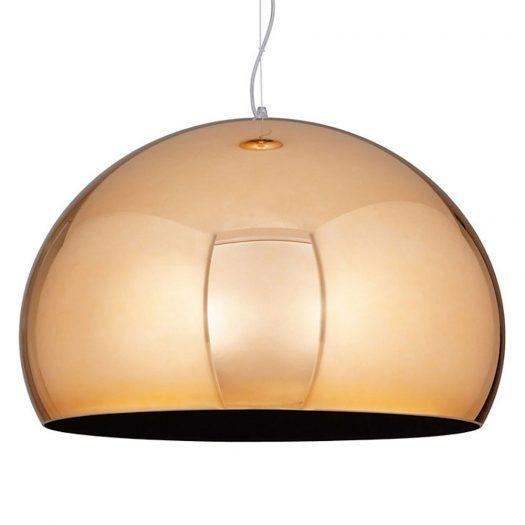 Small FLY Suspension Light Copper