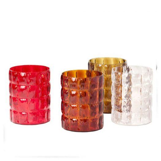 Matelasse Round Container or Bin