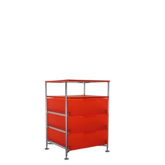 Mobil Container 3 Drawers with Shelf