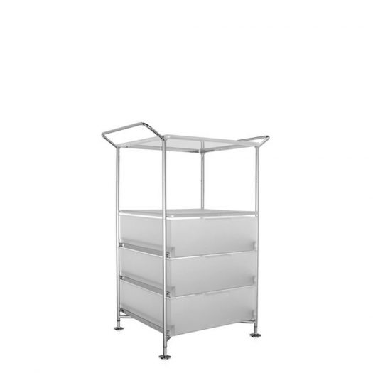 Mobil Container Handles 3 Drawers with Shelf