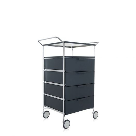 Mobil Container Handles 4 Drawers with Shelf and Wheels