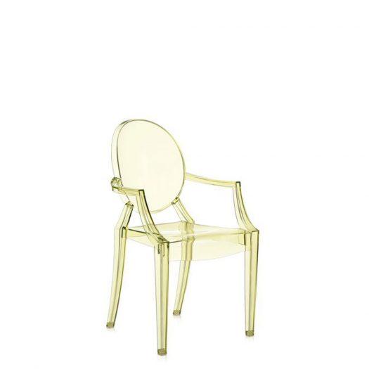 w Philippe Starck Lou Lou Ghost Kids Chair