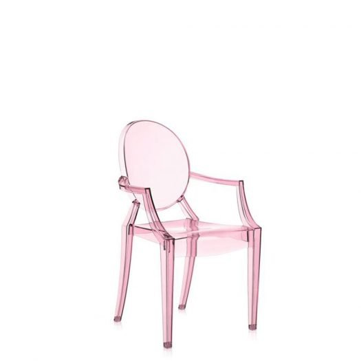 w Philippe Starck Lou Lou Ghost Kids Chair