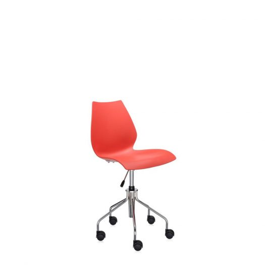 Maui Swivel Chair with Adjustable Height