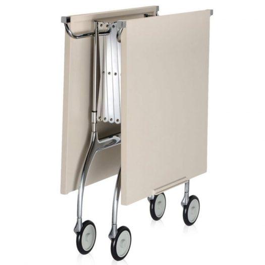 Battista Folding Trolley Cream