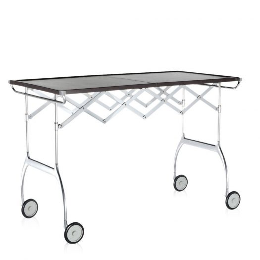 Battista Folding Trolley Plum