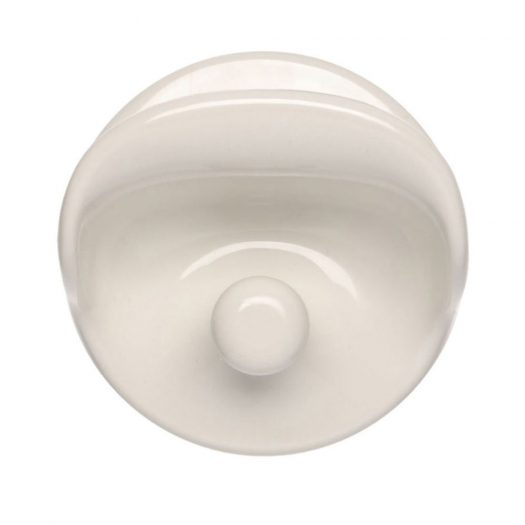 Wall Clothes Hook White